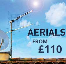 aerial cost