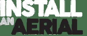 install an aerial logo