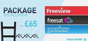 Freeview Installer package advertisment